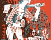 Woodsman - archival art print
