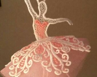 Lace Hanging Dancer Ballerina