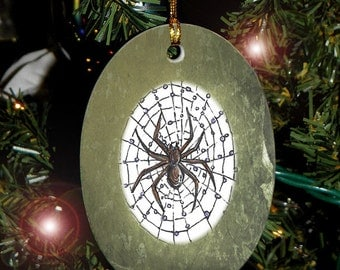 Spider Totem Animal Yule, Holiday, Christmas Ornament