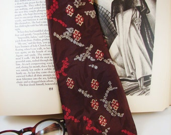 Tie - Silk - Vintage Necktie - Circa 1940's - The French Collection by Signet - FREE Shipping in US and Canada - Discounted Worldwide