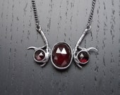 Andromeda Necklace - Garnet