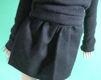 Black Skirt for MSD SD Ball Jointed Doll