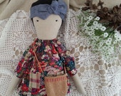 Cloth Doll - Harriet by moose & bird