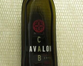 Avelon Cab Wine Bottle Dish