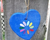 OOAK - Daisy Scout Paperclay Ornament