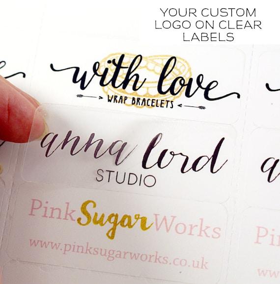 Custom Print Logo Labels 2 5/8 X 1 Custom Address Labels