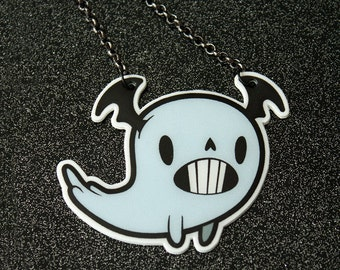 Memphis the Ghost Necklace