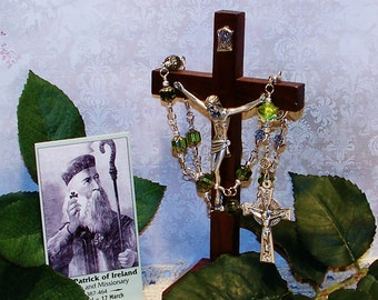 Unbreakable St. Patrick One-Decade Catholic Rosary - Patron Saint of Ireland and Against Snakes & the Fear of Snakes