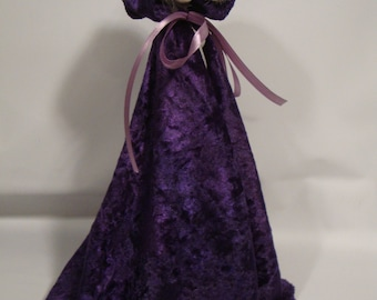 Purple Cape Fashion Designed for Your Monster High Doll