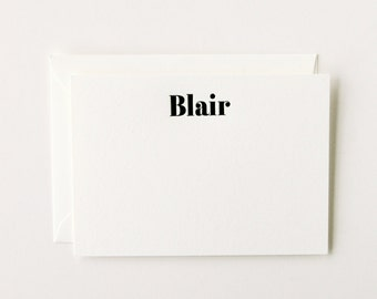 Blair - Personalized Letterpress Stationery