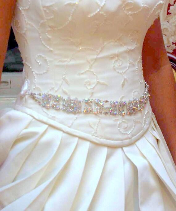 Peacock sash peacock belt bridal sash bridal belt for Peacock wedding dress sash