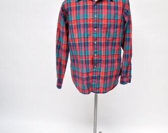 PENDLETON vintage wool shirt mens plaid SIR PENDLETON large
