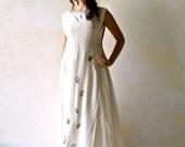 Bridal Separate, Two piece wedding dress, eco print silk dress, Woodland wedding, Medieval wedding, boho wedding, fairy wedding, handfasting