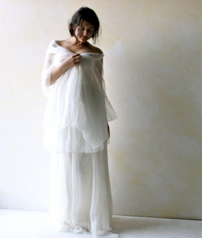 Bridal Shawl Wedding Shawl Silk Shawl Wedding Scarf By