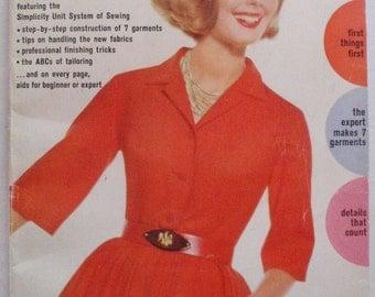 Vintage 1962 Simplicity Sewing Book