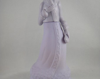 Roaring Twenties Girl Avon Decanter Lavender
