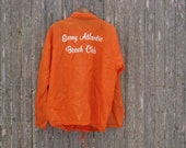 Vintage Sunny Atlantic Beach Club Jacket Mens Large