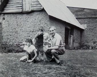 Vintage Photo - On the Farm