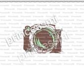 SALE #18 CAMERA clipart 1 PNG file - Digital Camera Clip Art cute camera photography clipart  for  photographer by princessmi