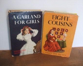 Vintage Louisa May Alcott Book Set