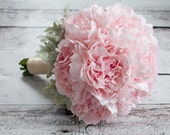 Blush Pink Peony Wedding Bouquet