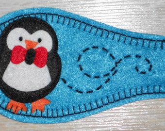 Cloth Eye Patch for Lazy Eye - Penguin NEW