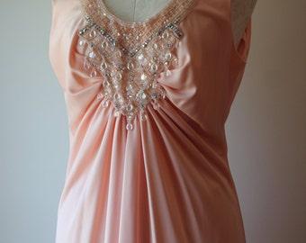 Vintage 1970's Jack Bryan Beaded Maxi Dress Vintage 1970's Jack Bryan Beaded Gown
