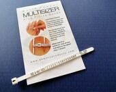 Ring sizer, ring sizing gauge, ring gauge, ring sizing tool, ring measuring tool, finger sizer, adjustable ring gauge, finger size |