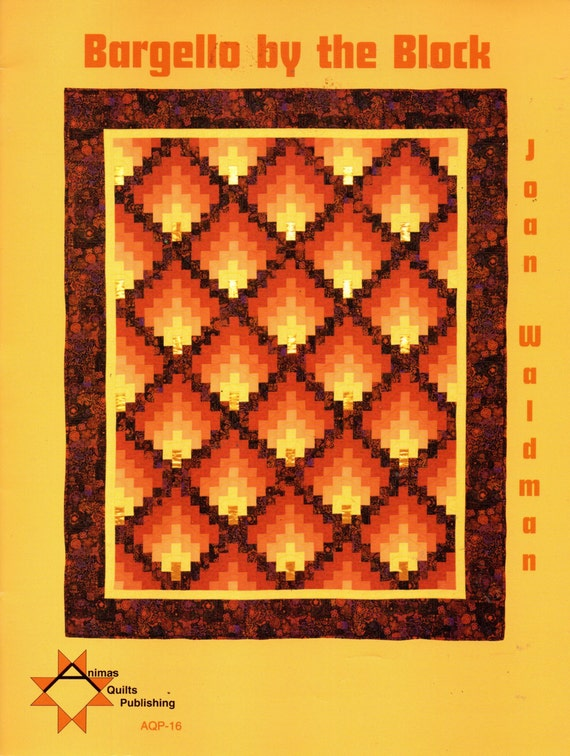 Bargello By The Block Quilting Pattern Book By Joan Waldman