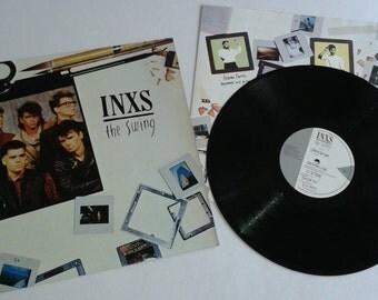 NEAR MINT - 1984 - INXS - The Swing - Lp Vinyl Record Album -  Classic 80's Rock - New Wave