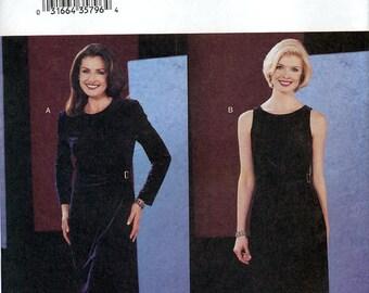 Butterick 3667 by David Warren Misses' Dress Sewing Pattern - Uncut - Size 12, 14, 16 - Bust 34, 36, 38