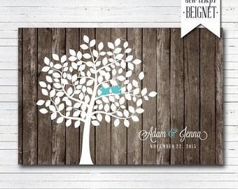 Wedding Guest Book - Wedding Tree - Signatures Tree - Wood Wedding - Wedding Guestbook - Wedding Poster - Guest Book - Rustic Guest Book