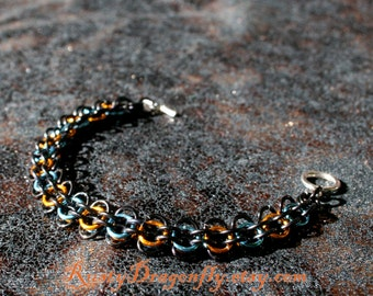 Portal Linking Weave Chainmaille Bracelet