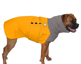 BOXER Winter Dog Coat, Waterproof Jacket for Dogs, Fleece Dog Snood, Winter Coat, Winter Clothes, Dog Clothing, Dog Accessories, Pet Coats