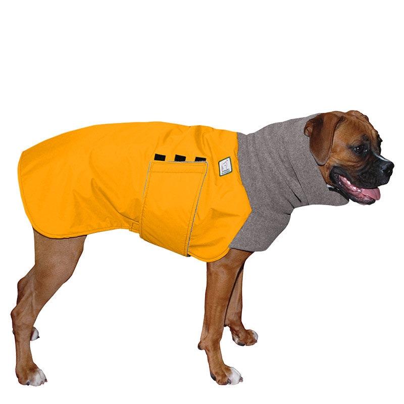 BOXER Winter Dog Coat Waterproof Jacket for Dogs Fleece Dog
