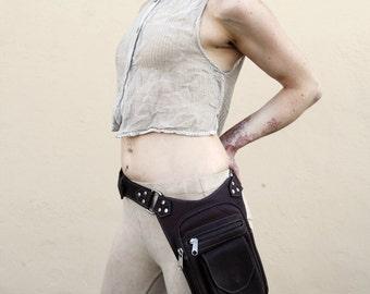 Burning Man Unisex Leather Leg Holster perfect for festivals