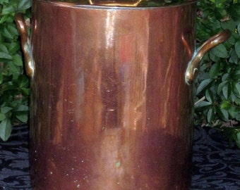Huge 11ltr Dehillerin paris French copper stock pot 2.5mm cuivre