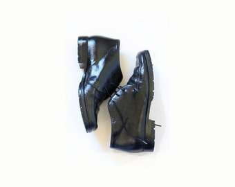 Vintage BOHO // black COLE HAAN dress shoes // black leather shoes // hipster shoes // nice shoes // dress shoes // designer shoes size 6/7