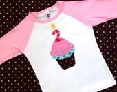 Birthday Cupcake Shirt, Birthday Shirt, Cake Shirt, Girls Birthday Shirt, First Birthday, Second Birthday, Third Birthday, Birthday Tank Top