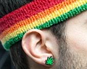 Weed OR Marijuana Stud Earrings