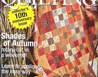 American Patchwork and Quilting, October 2003, Issue 64