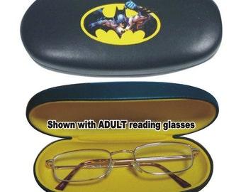 Batman Case / Eyeglass Holder / Sunglasses Case / Hard Eyeglass Case / Glasses Case:  NON-PERSONALIZED
