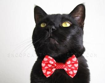 Cat Bow Tie - Be Mine Valentine