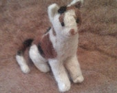 Cat Felt Kit (CUSTOM) - You Choose The Color & Breed - Includes Alpaca Fiber, Felting Needles, Photo Instructions