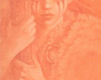 Warrior Woman Tribal Art