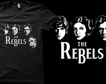 The Rebels Star Wars Beatles Parody Cover Crossover Fan Artwork  - Unisex T-shirts