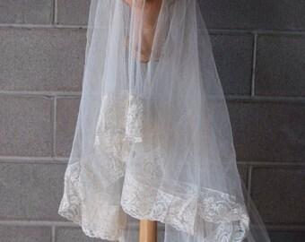 1930's Bridal Veil