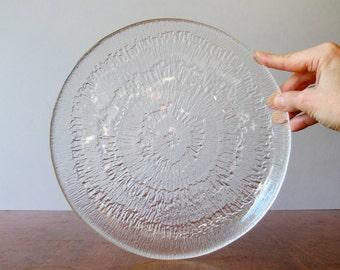 Vinage iittala Solaris Scandinavian Modern Plate - Wirkkala