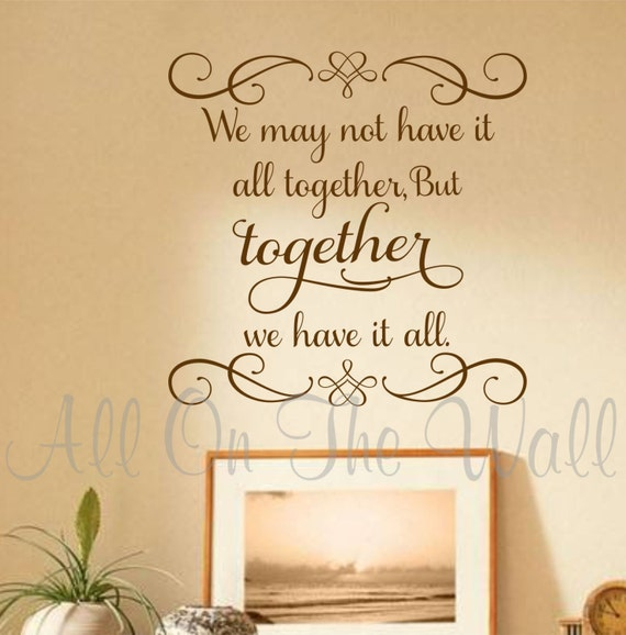 Family Wall Decals Family Saying Decal Foyer Vinyl Lettering