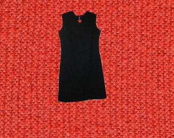 plus size mod dress rhinestones cutout black extra large xl 1x 12 14